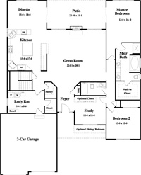 Chestnut ranch plan