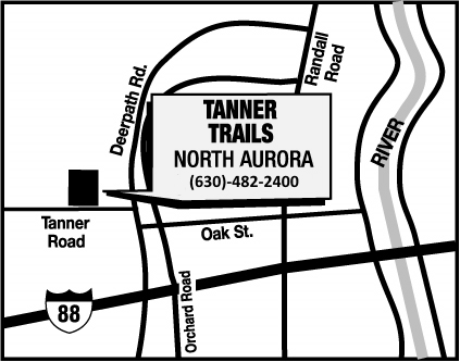 Tanner Trails Map & Directions