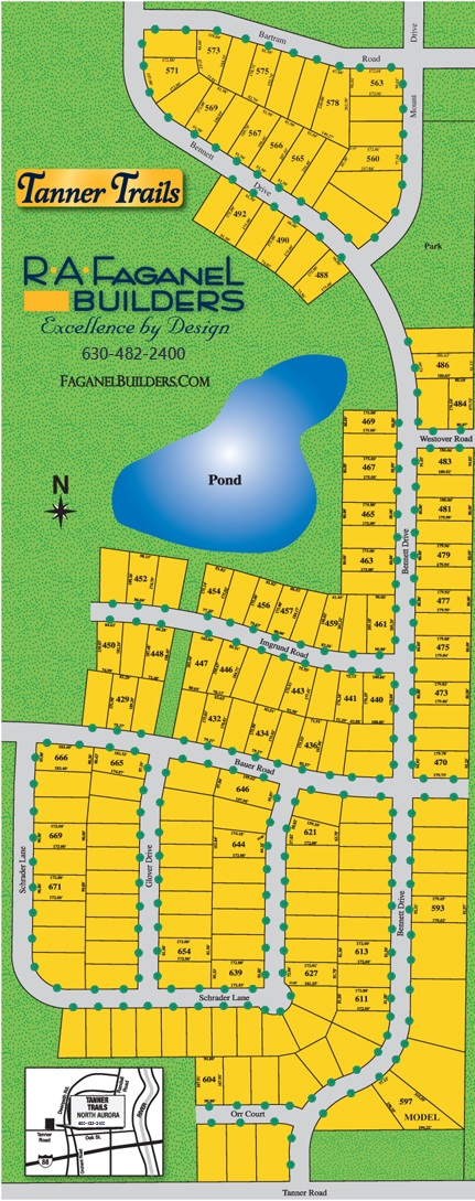 Tanner Trails Site Plan